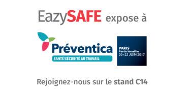 affiche exposition eazysafe à préventica 2017