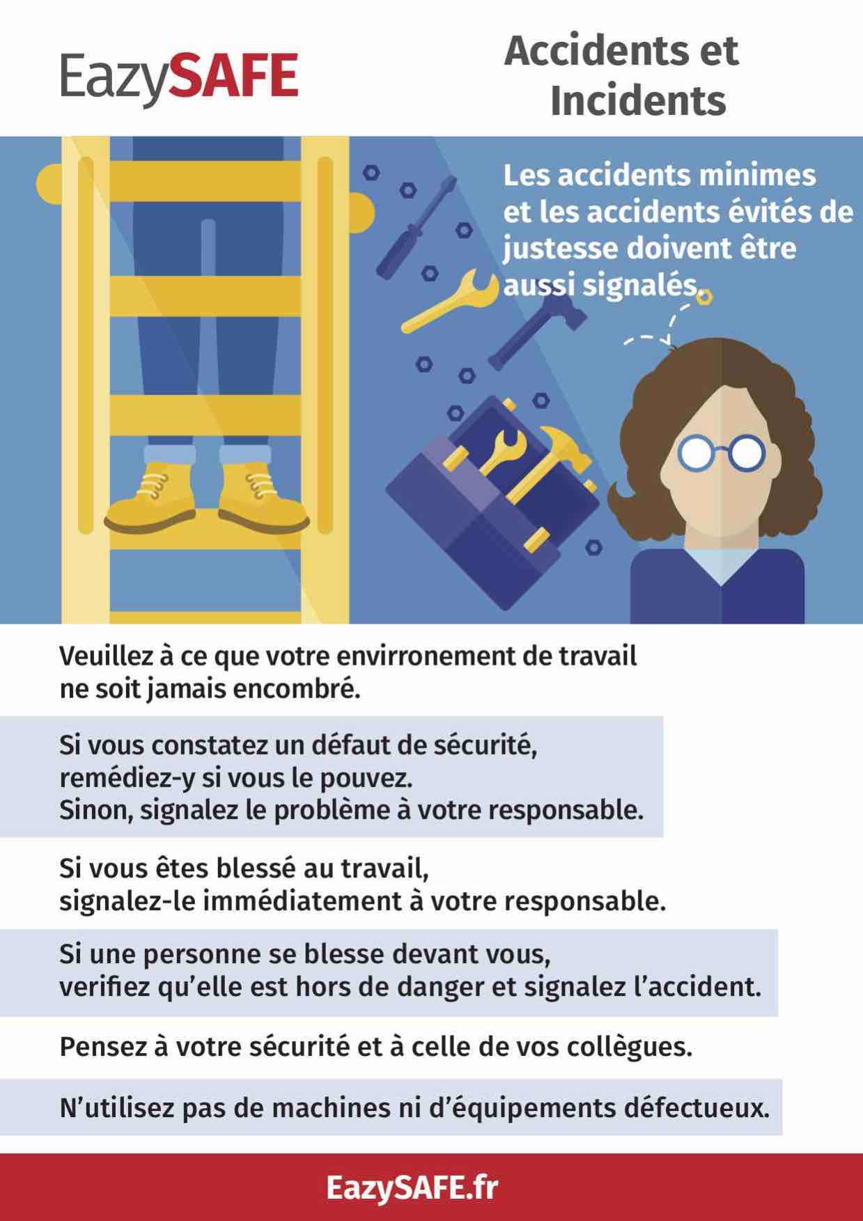 poster accident et incidents