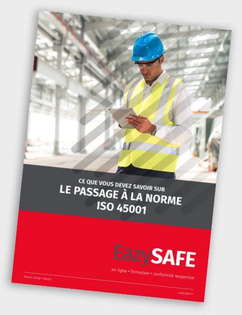 couverture livre blanc le passage à la norme iso 45001